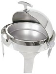Chafer 5 qt round roll top